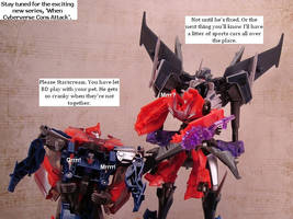 TF Prime - Knock Out, Starscream and Pets by ThunderCougar