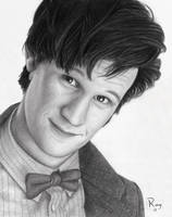 Matt Smith as the Doctor by RayPelesko