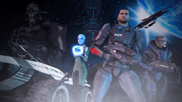 Mass Effect 1 - Race Against Time [SFM] by Archangel470