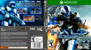 Halo: Incursion (Fan-Made Game Cover) by Archangel470