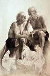 Portret dziadka by szaricho