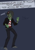 Emo Zombies by myluckyseven