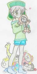 s o u t h  p a r k-hugs by SaddlePatch