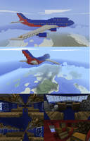 Southwest Airlines Boeing747-8 by shortsonfire79