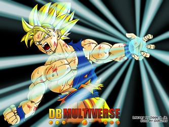 Goku SSJ by Gokuten
