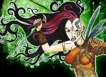 Wild Cha'Iru by LoganGaiaRPG