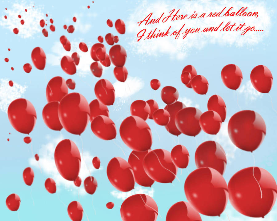 99 Red Balloons Wallpaper 3 By Cllo Chan