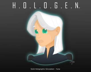 HOLOGEN - Yuna by R3dF0x