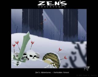 Zen's Adventures 2012 painting 2 by R3dF0x