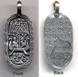 Viking Traveler's Charm by dragonscalearts