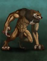 Werewolf by RichardBlumenstein