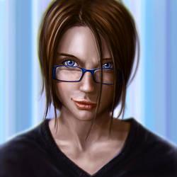 Slowpainting - Glasses by Garrettsmash