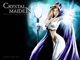 Crystal Maiden by Langaw