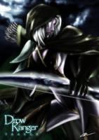 Drow Ranger by Langaw