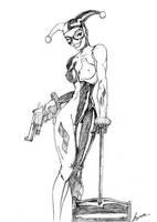 Harley Quinn by Langaw
