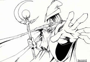 Wizard by Langaw