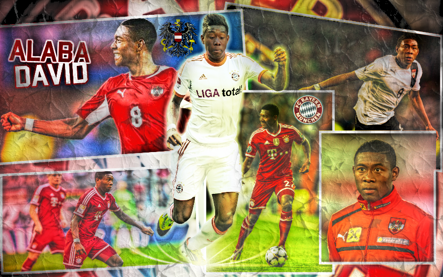 David Alaba Bayern Munich Hd Wallpaper 2014 By Danilodeviantart98 On Deviantart