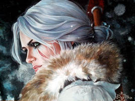 Ciri by Djeffrin