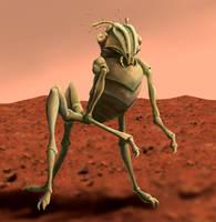 Quatermass Martian 1955 by Hydrart