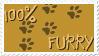 Furry stamp by UchihaDEMS