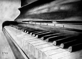 Piano by dtekriwal