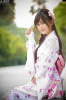 Yukata Girl by bdrc