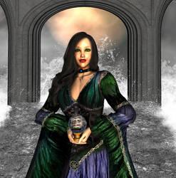 Lady Calarriel by Zagora-dAnguissette