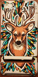 Deer ipod Case by Kekreations