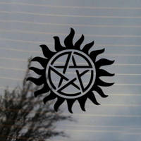 Anti Possession Paranormal Television Vinyl Decal by Cosplayfangear