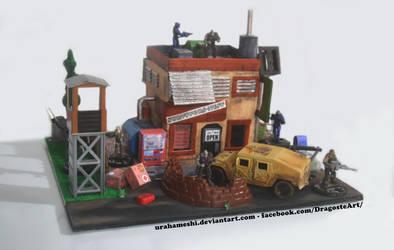 Diorama Making - Post Apocalyptic by UraHameshi