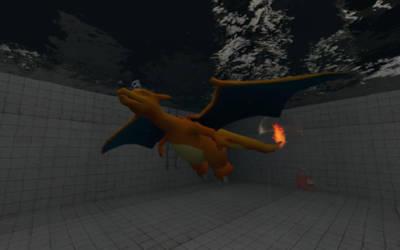 GMod Request: Submarine dragon by AtomicLugia