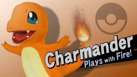 SSB4 Splashes - Charmander by AtomicLugia