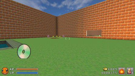 A Screenshot of CQ3D by AtomicLugia