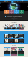 ARTo WordPress Theme by webdesigngeek