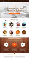 Polygon WordPress Portfolio by webdesigngeek