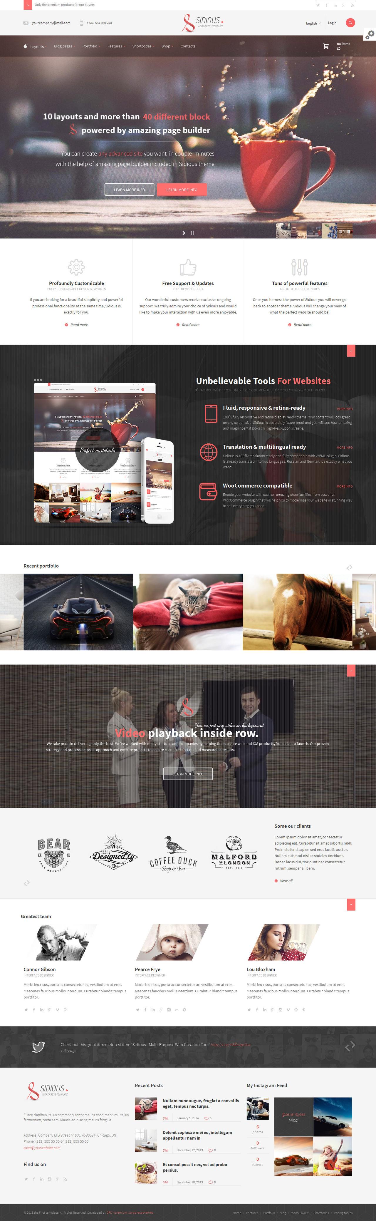 Sidious - Web Creation Tool by webdesigngeek