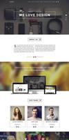 Elegant OnePage WP Theme by webdesigngeek
