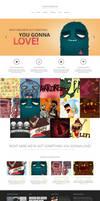 Performer Minimalistic Portfolio Theme by webdesigngeek