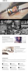 Gedebvge - Responsive One Page Portfolio Theme by webdesigngeek
