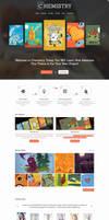 Chemistry - WP Theme by webdesigngeek