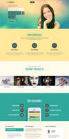 Ethereal - Multipurpose Parallax WordPress Theme by webdesigngeek
