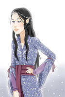 Arwen Undomiel by Chloeeh