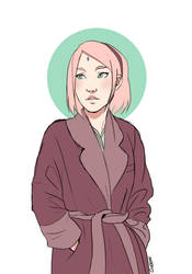 Winter Sakura by Chloeeh