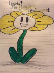 Flowey the flower! by Enderous1624