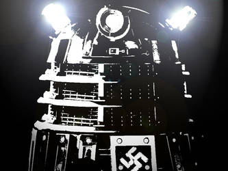 Nazi Dalek by The-13th-Doctor