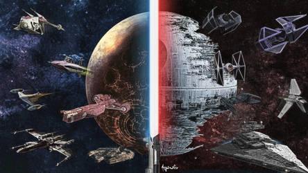 Star Wars Sketch by asganafer