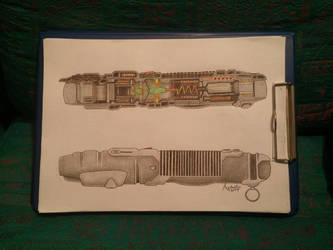 LightSaber Cross Section by asganafer