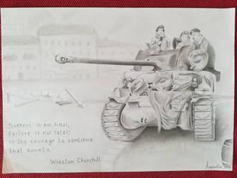 Tank of liberty  by asganafer