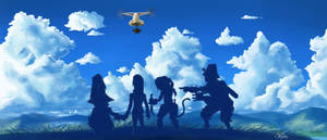 Final Fantasy IX: The Adventure Begins! by superninjadeluxe