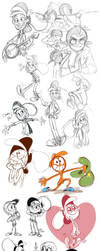 Wander sketch dump by littledigits